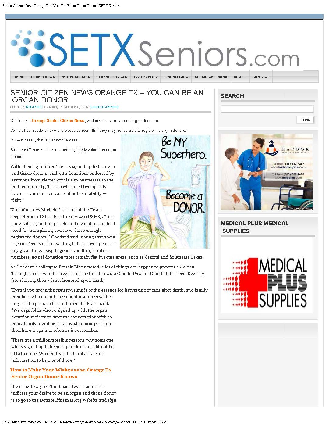 senior magazine Southeast Texas, senior advertising Southeast Texas, advertising agency Southeast Texas, advertising media Beaumont TX