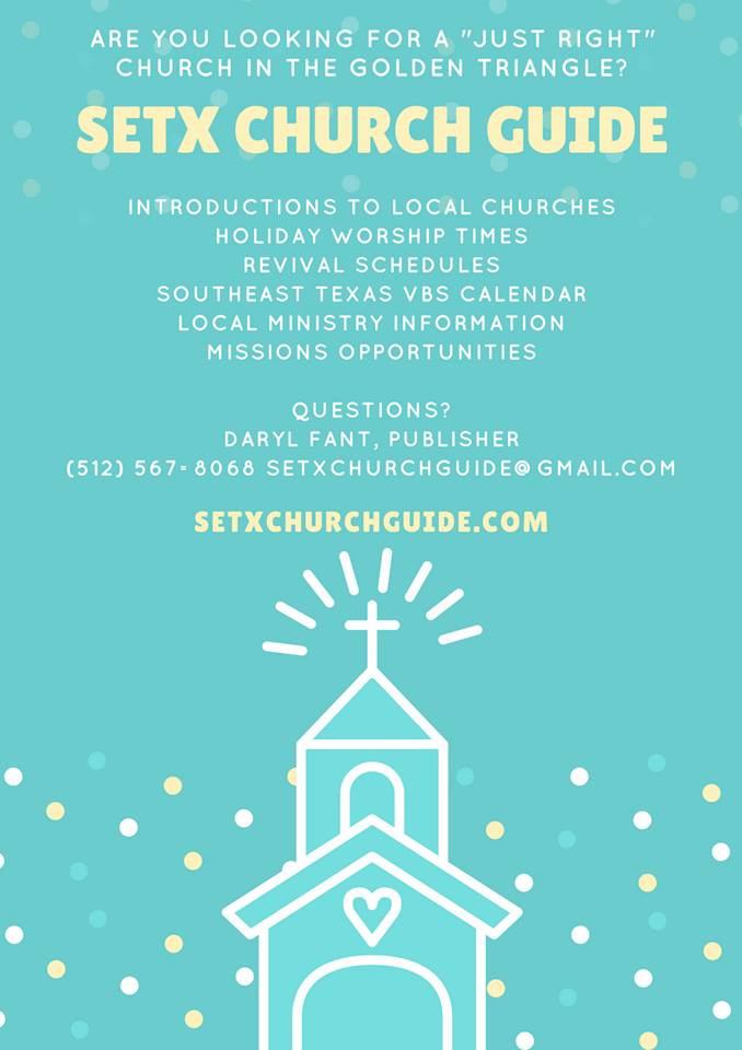 setx church guide, Christian Advertising Texas, Christian advertising Houston area, Christian business Southeast Texas
